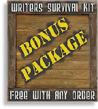 The Writer's Survival Kit Bonus Package